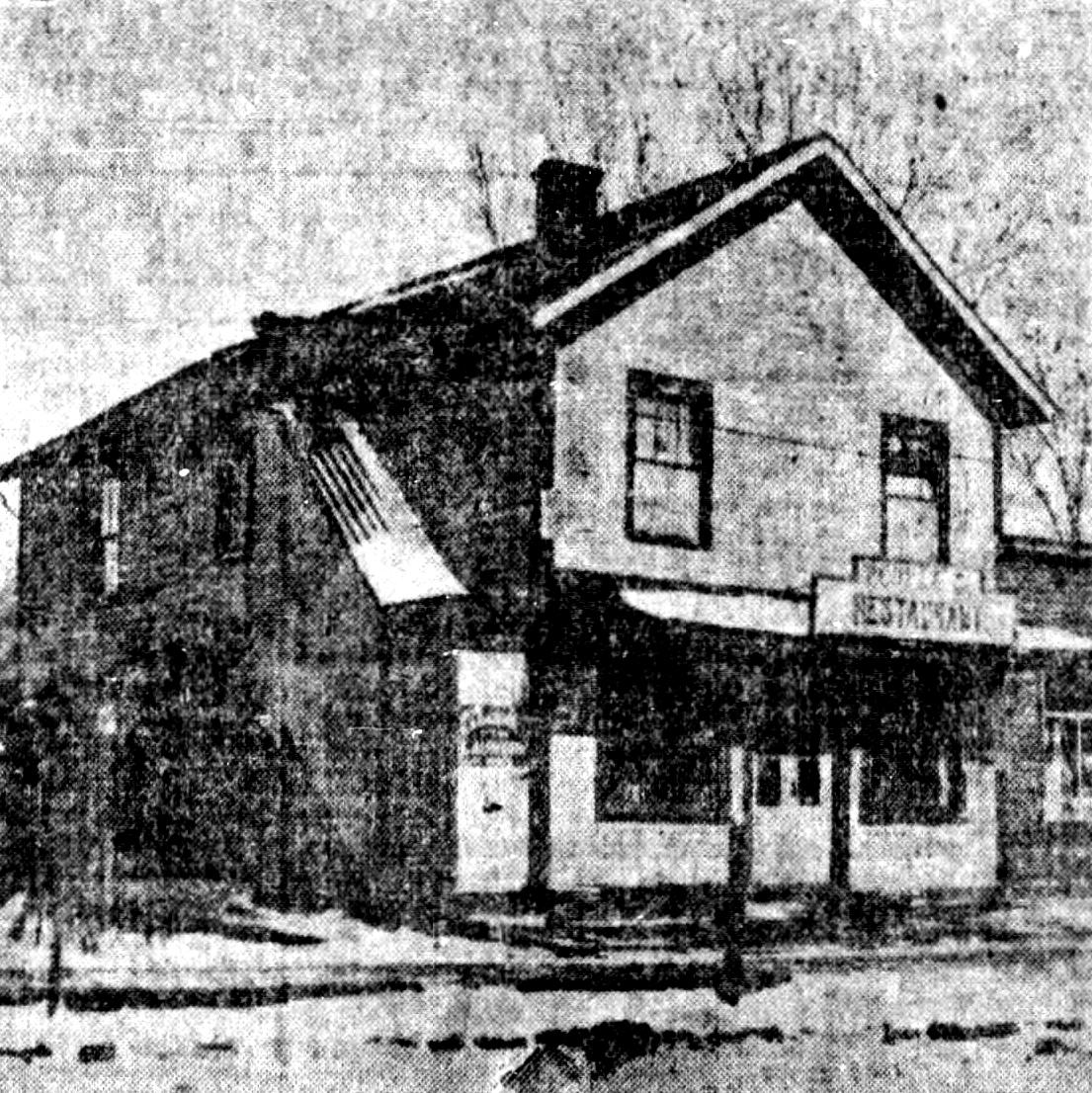 Thomas Oliver's house in Epworth, Iowa